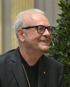 Photo de Modiano en 2014