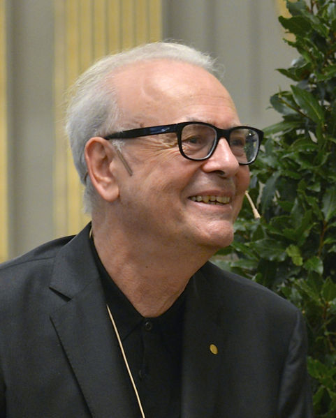 Photo de Modiano en 2014