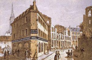 Auguste Munch, rue du Dôme, 1870