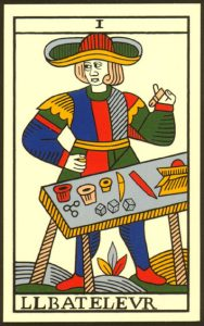 lame du Bateleur (Tarot de Marseille)
