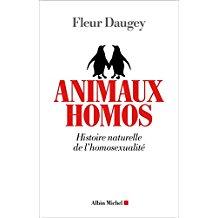 couverture du livre Animaux homos : histoire naturelle de l'homosexualité
