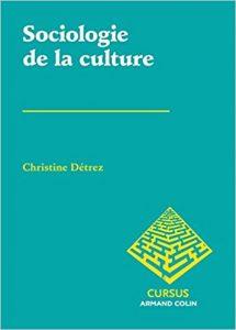 couverture du livre Sociologie de la culture