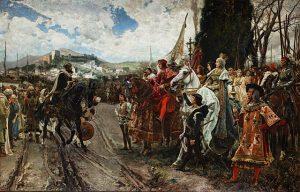 La Rendicion de Granada Francisco Pradilla Ortiz