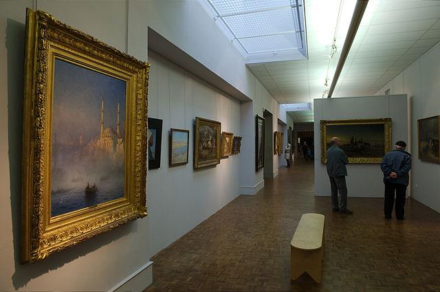 Photto d'une salle du Musée des beaux-arts de Brest