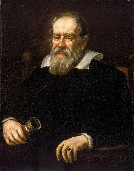 Portrait de Galilée en 1636