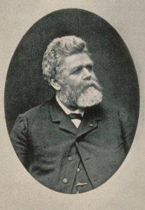 Portrait photographique de Théodore Deck