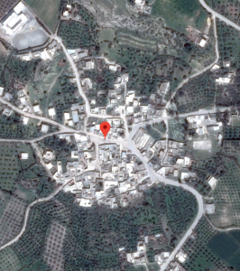 Vue satellite de Toubakeur, via Google maps