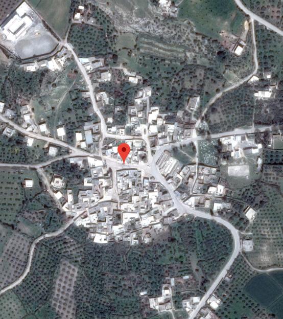 Vue satellite de Toubakeur, via Google maps