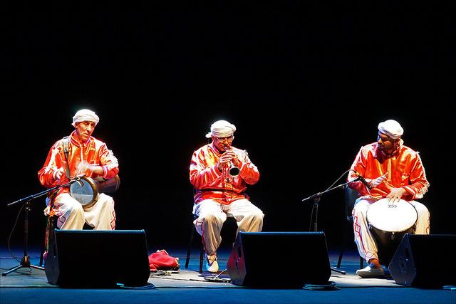photographie de musiciens Zorna et tambours