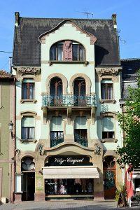 """Maison de style """"art nouveau"""" à Guebwiller,"""