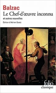 couverture du Chef d'oeuvre inconnu de Balzac ed Folio