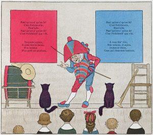 illustration de Boutet de Monvel sur Polichinelle