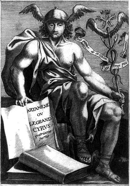 gravure de couverture de Artamène ou le Grand Cyrus