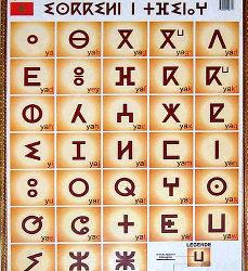 Date d'apparition de la langue berbère ?