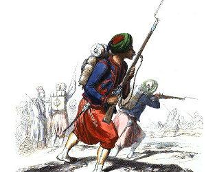 Histoire des zouaves d'Algérie