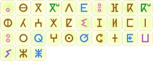 L'alphabet tifinagh-IRCAM