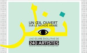 Un œil ouvert sur le monde arabe reproduit sur le site ArtSixMic