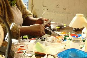 Existe-t-il de la documentation sur le réemploi des déchets en art ?