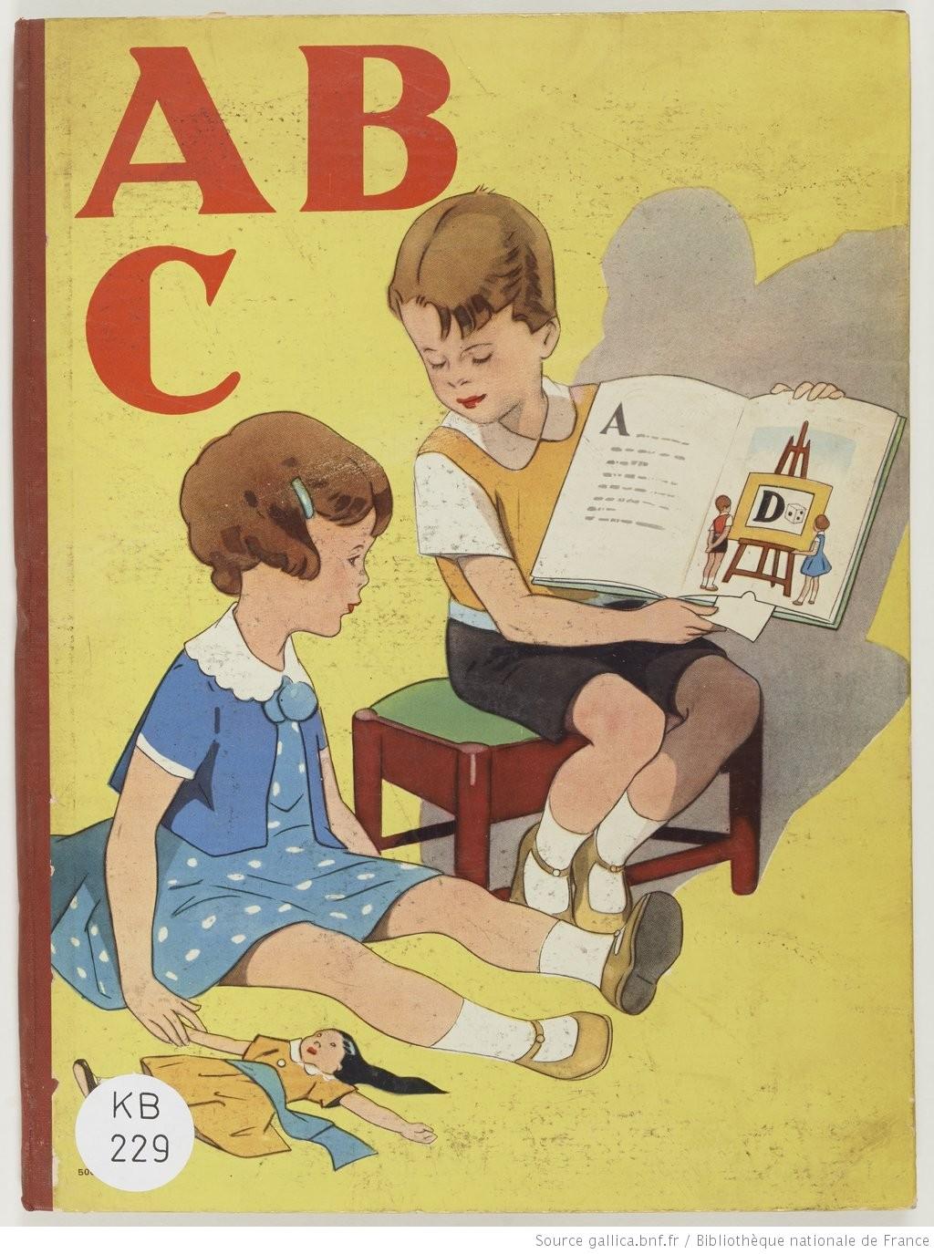 A. B. C. deux enfants studieux