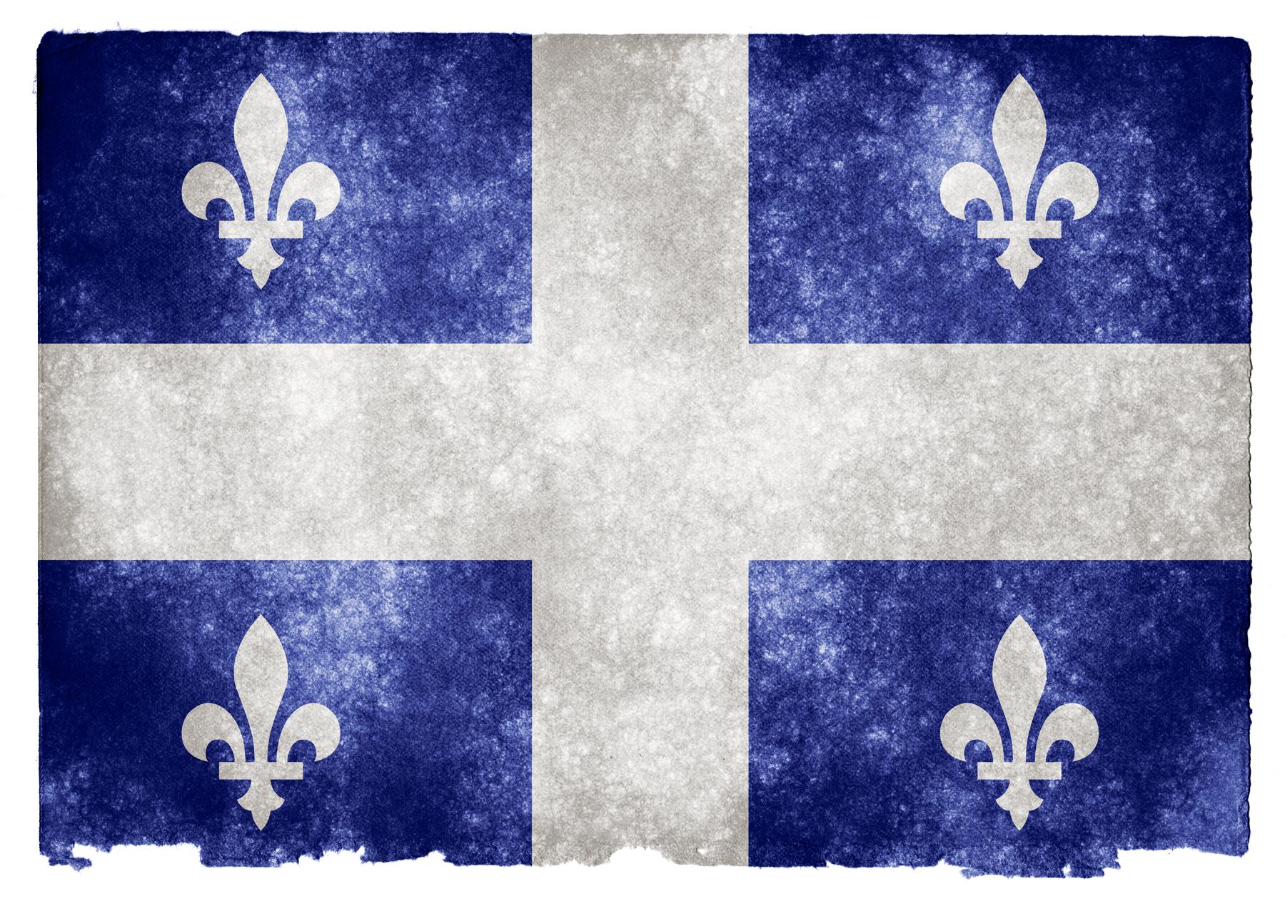 Drapeau Quebecoi