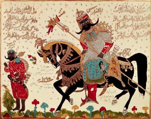 Antarah bin shadad (manuscrit)
