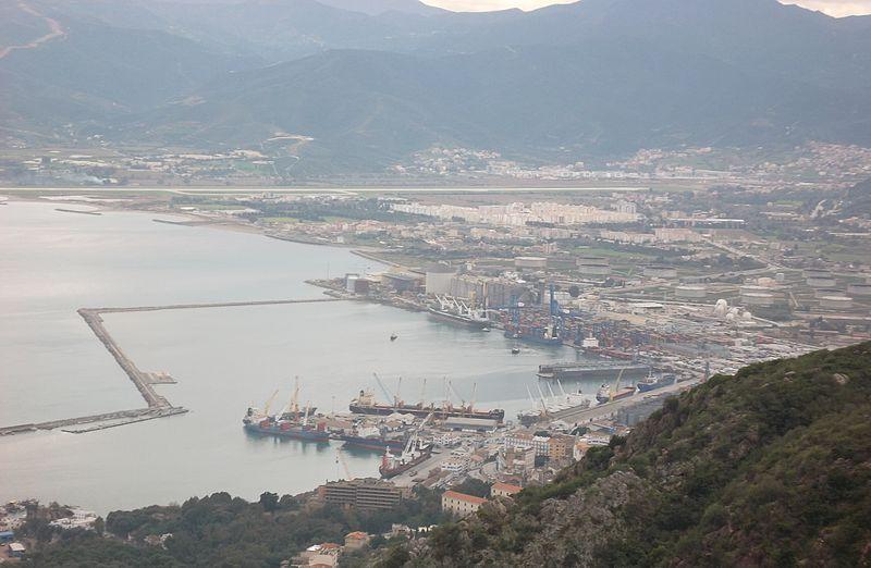 Photographie du port de Jijel
