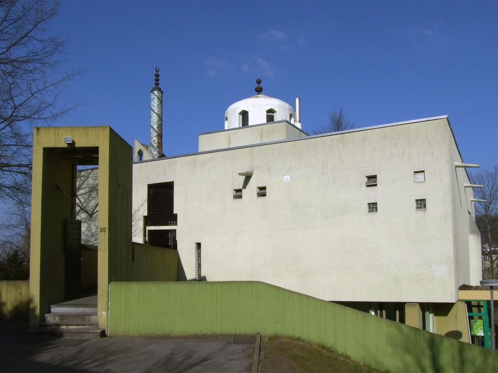 Mosquée Bilal à Aix-la-Chapelle (Allemagne) sur Wikimedia