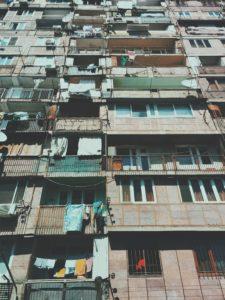 Logements, balcons