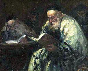 Adolf Behrman- Talmud- Public Domain