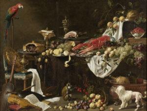Banquet de Adriaen van Utrecht (tableau)