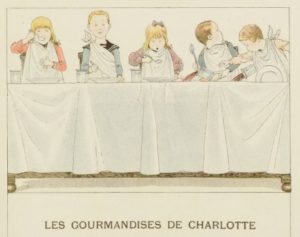 Les gourmandises de Charlotte. ource gallica.bnf.fr / BnF
