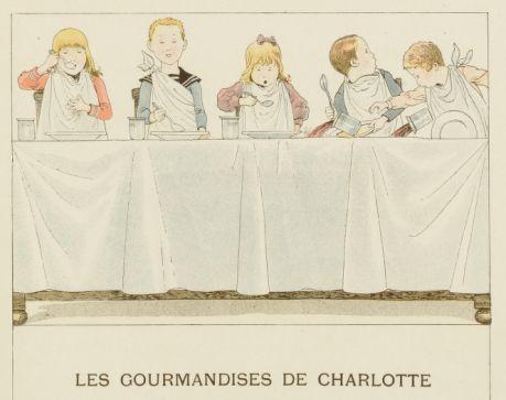 Les gourmandises de Charlotte. ource gallica.bnf.fr / BnF