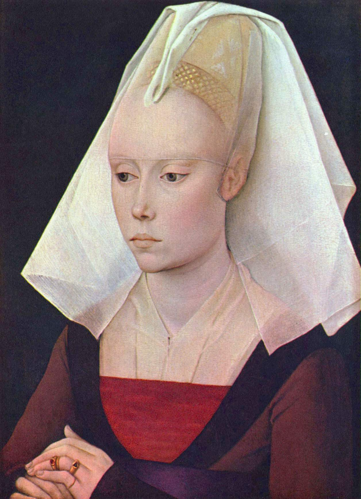 Portait d'une Dame au XVe siècle.