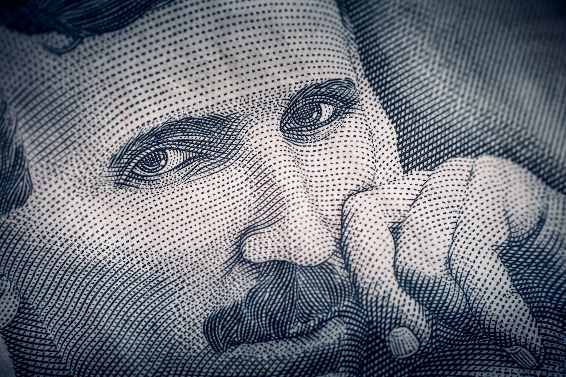 Nikola Tesla. Billet de banque