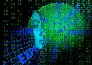 Femme & technologie. Infographie