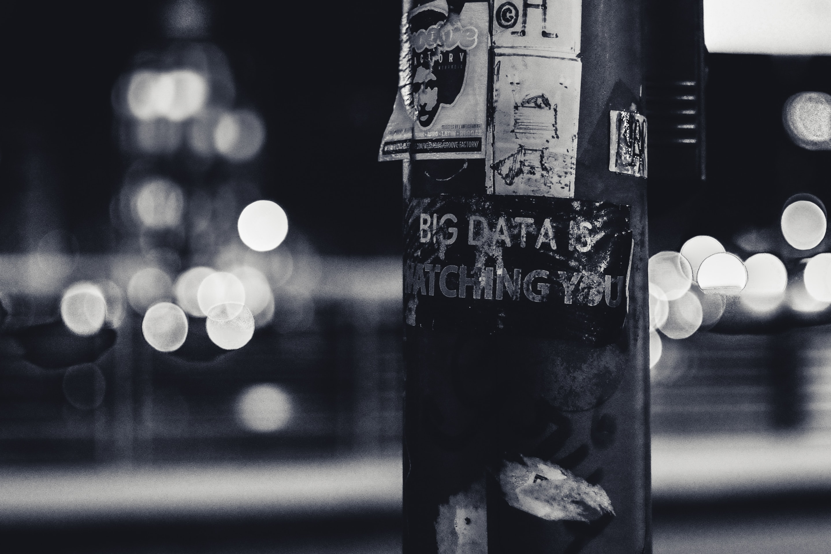 Tag big data dans la rue