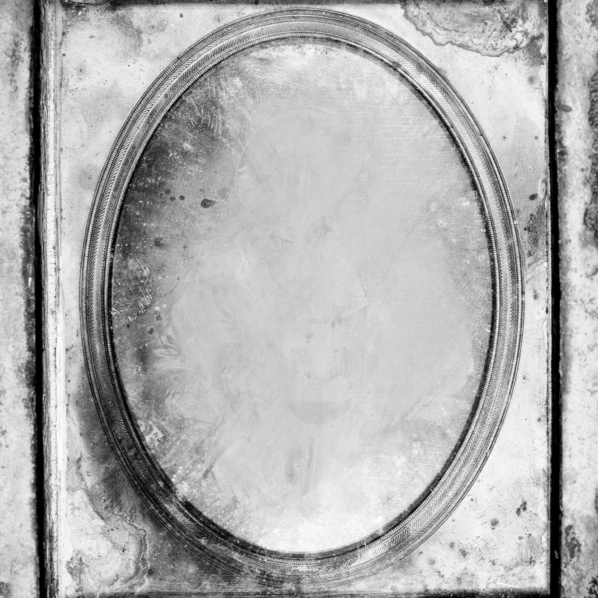 Miroir gris halloween