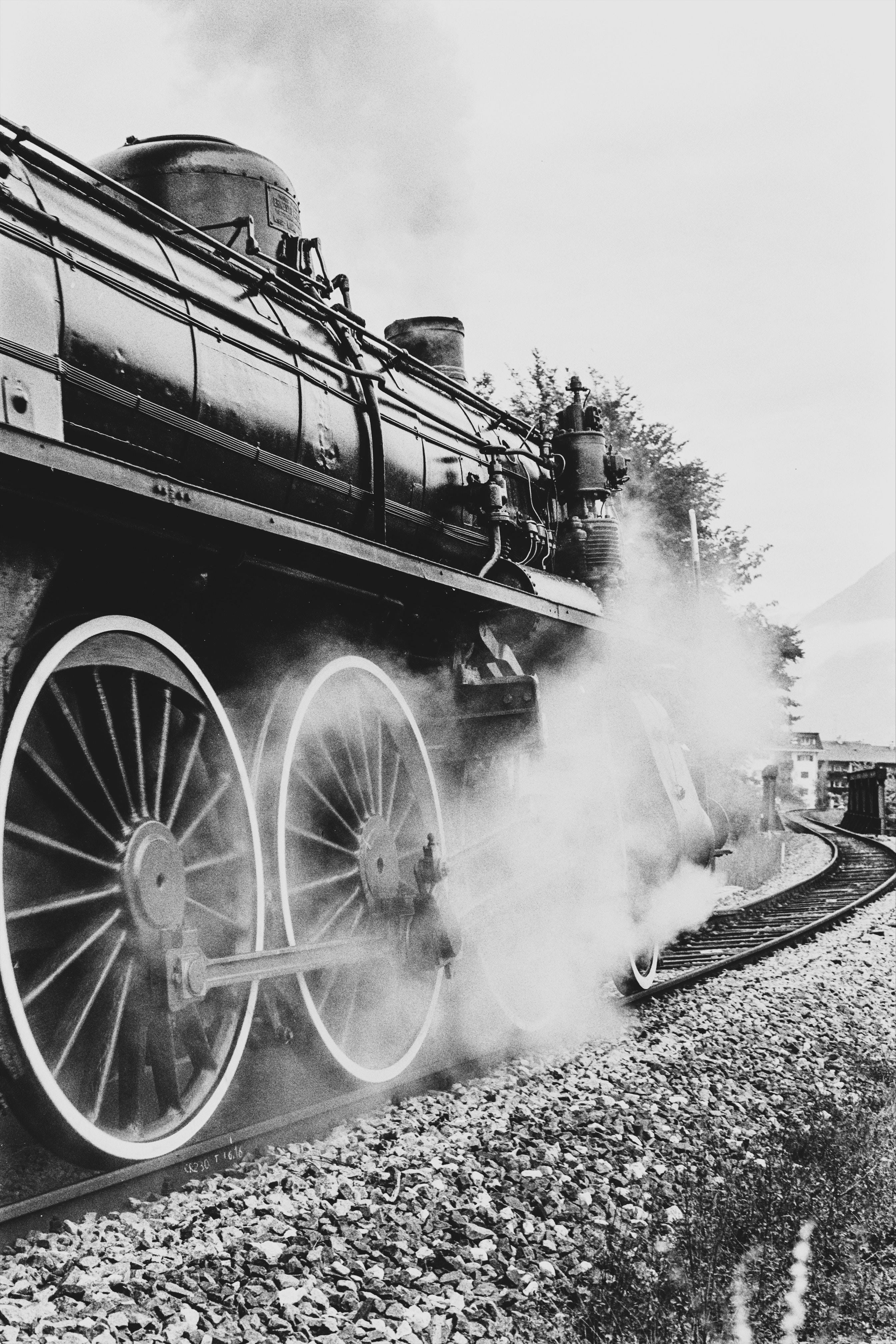 Locomotive à vapeur (photo de Giuseppe Ruco )