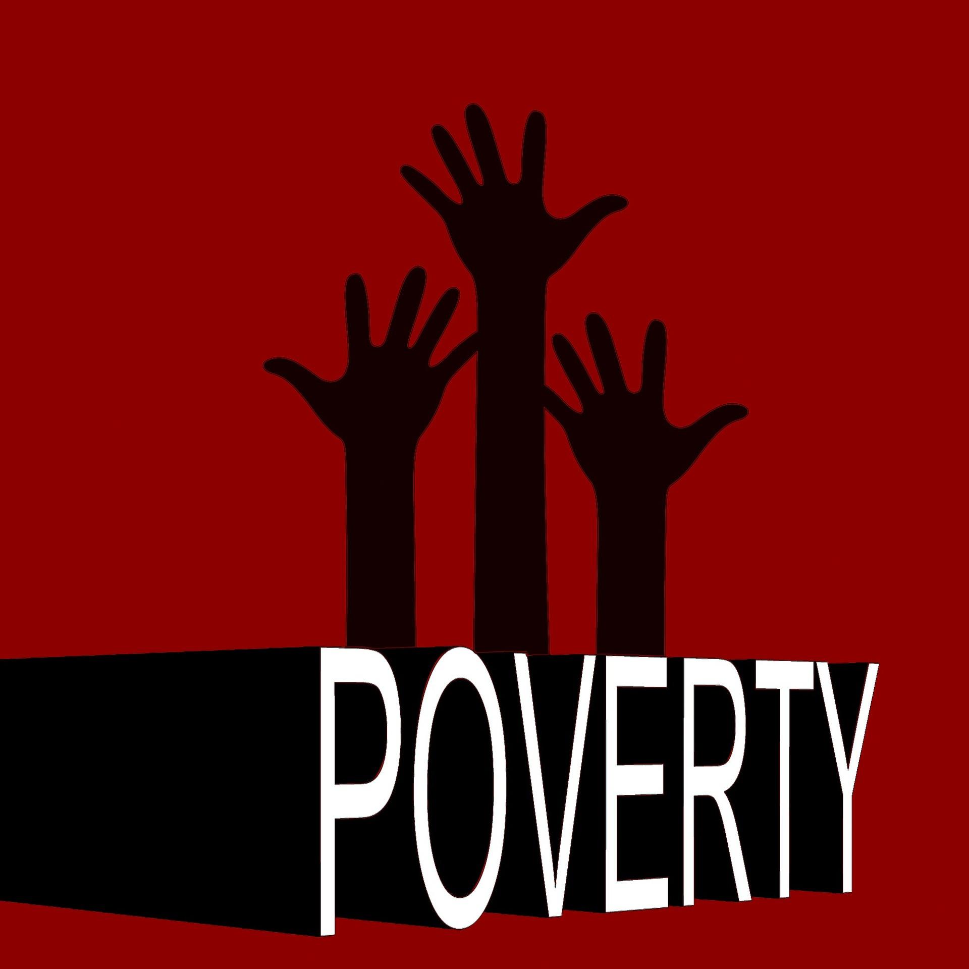 La pauvreté. Image Gerd Altmann de Pixabay