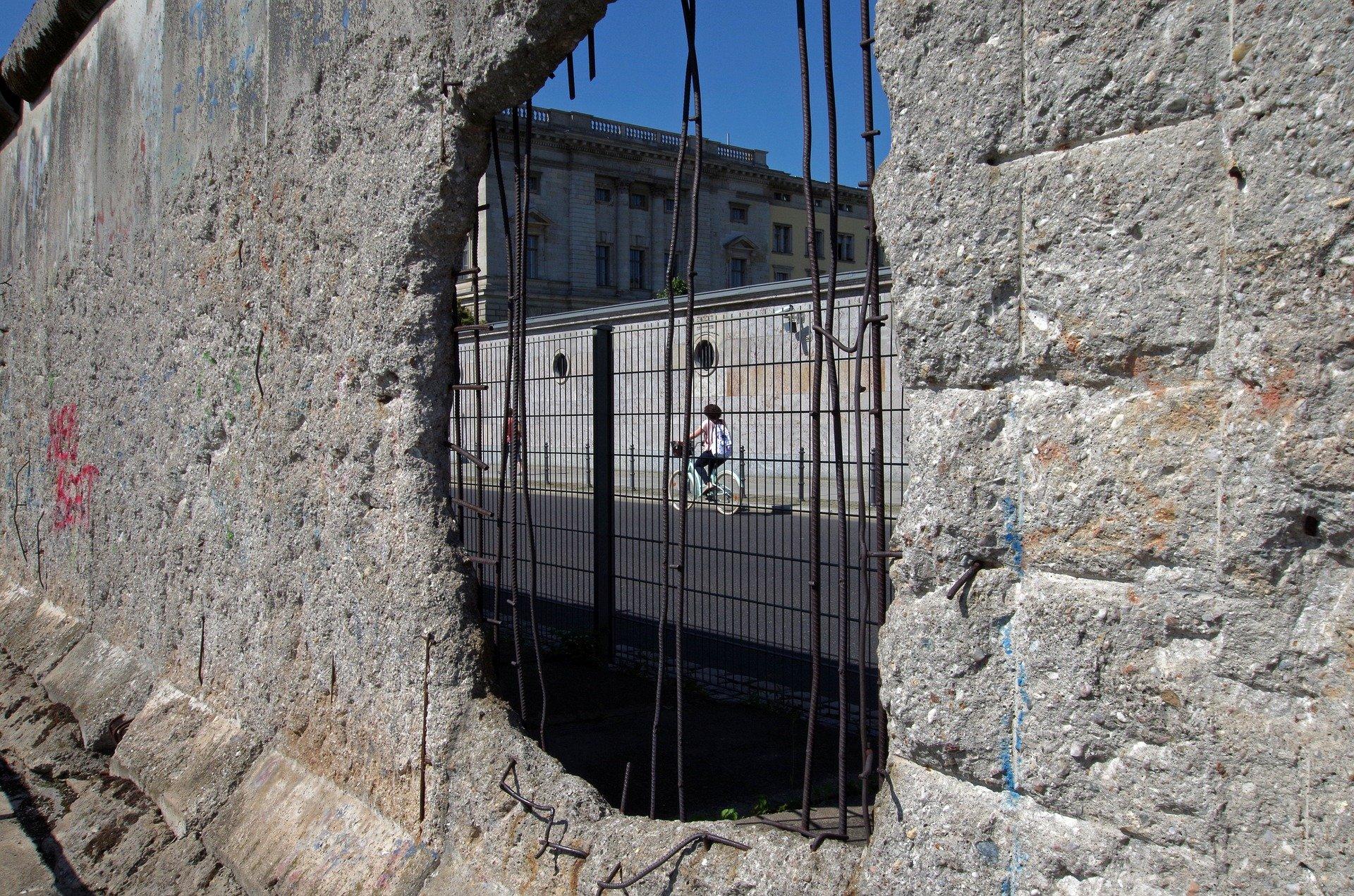 Vieux mur de Berlin.