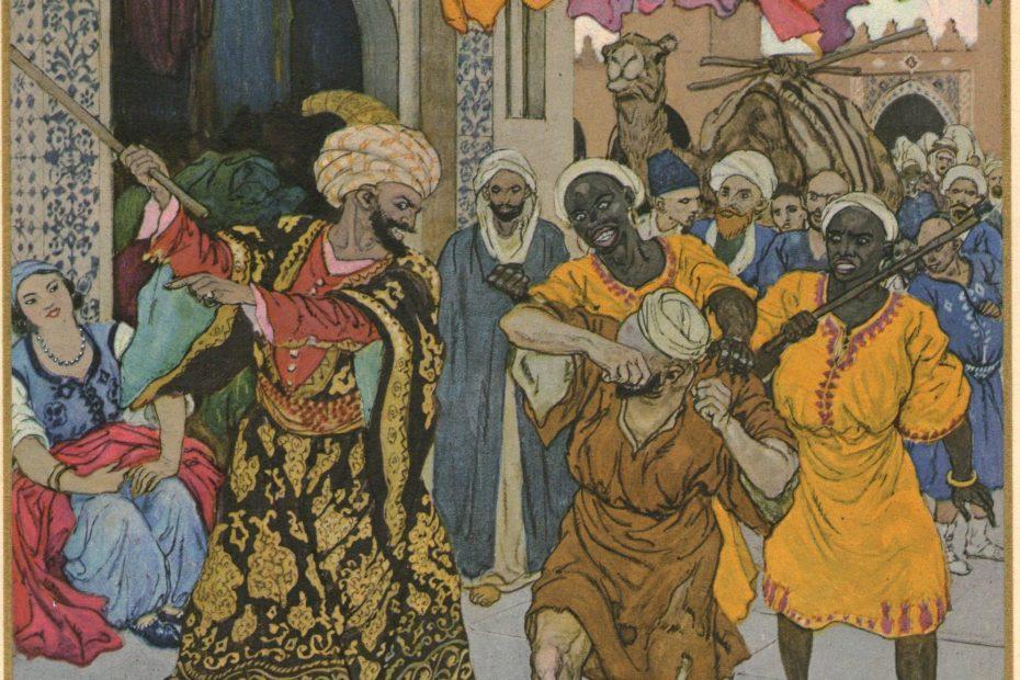 Illustration de l'histoire d'Aboukir et Abousir