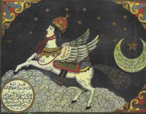 Bouraq, coursier fantastique, monture des prophètes.