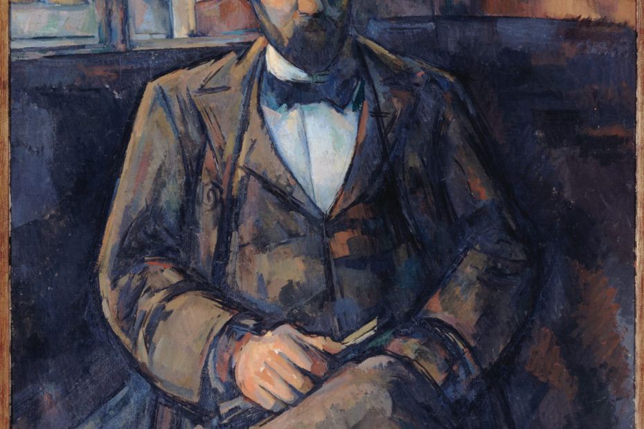 Portrait Ambroise Vollard par Paul Cezanne
