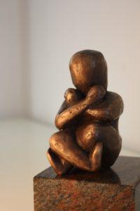 statue fœtus