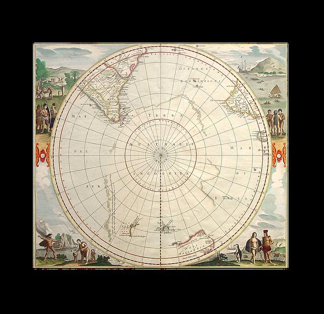 globe terrestre pôles équateur