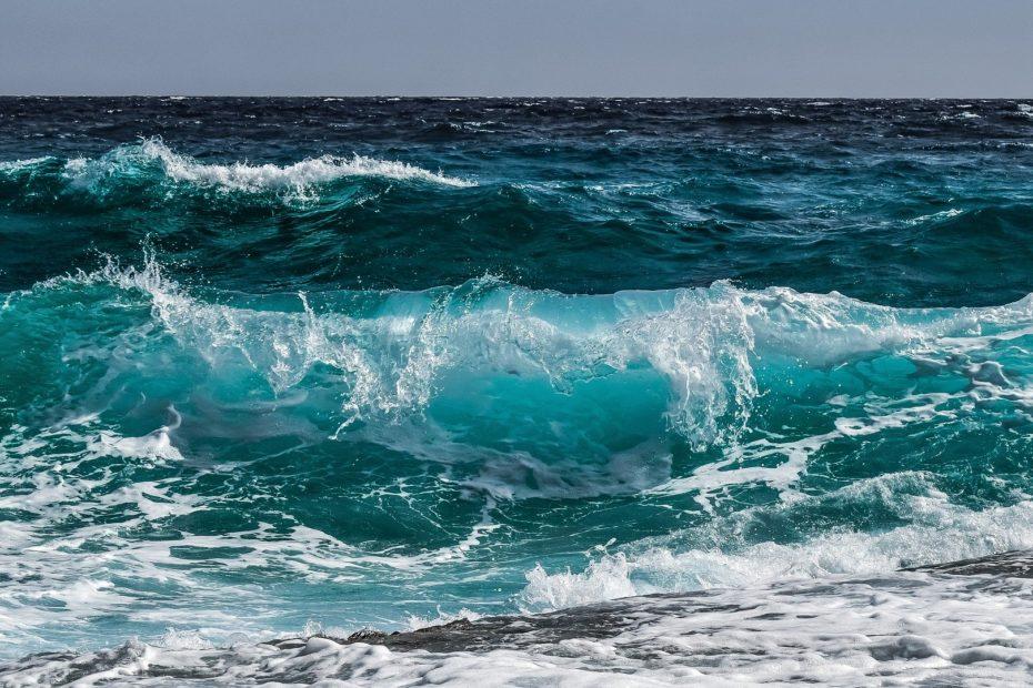 Image d'une vague