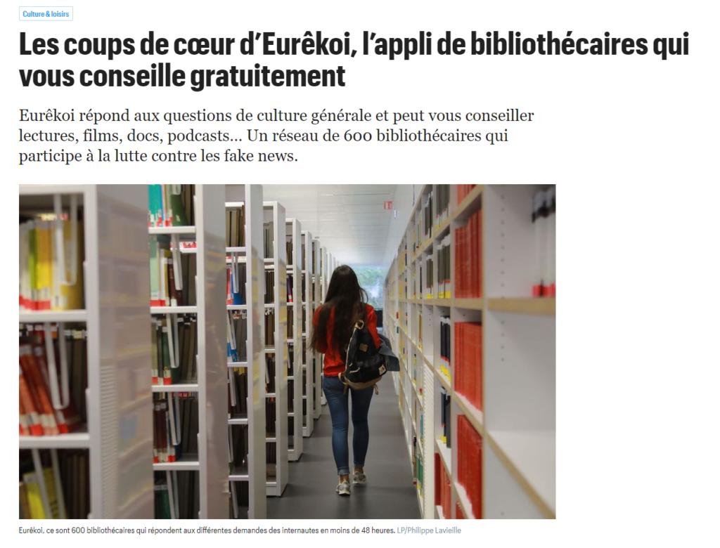 Extrait de l'article du Parisien du 09 décembre 2020