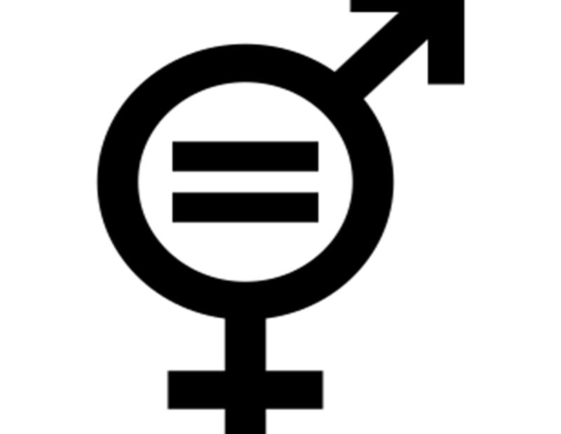 """Symbole signifiant """"égalité des sexes"""""""