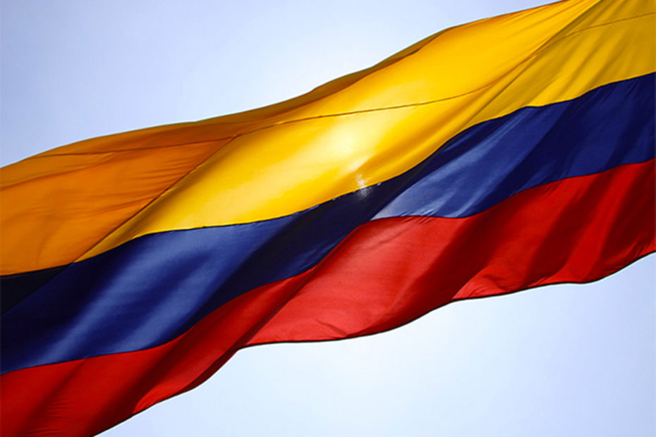 Drapeau de la Colombie