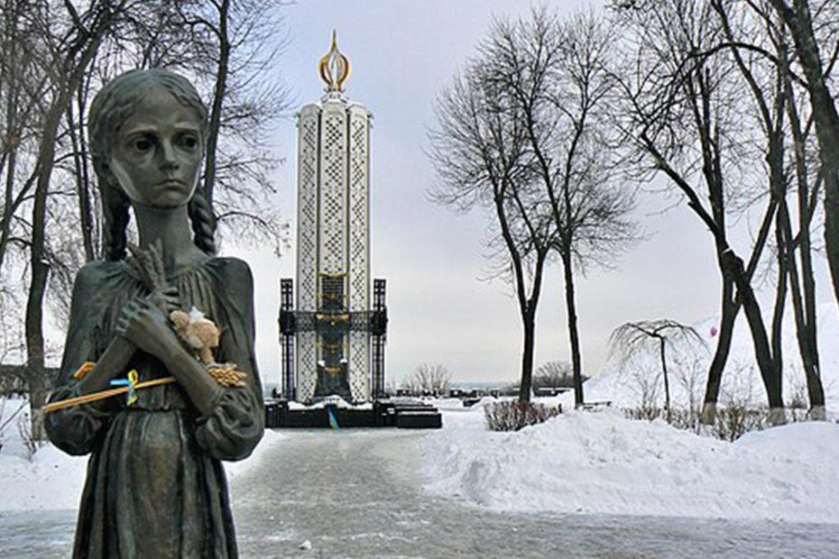 Mémorial aux victimes due l'Holodomor par Jarosław Góralczyk